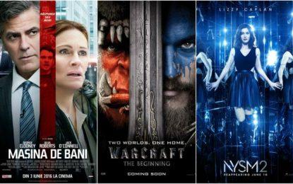 Cinema Călărași 2D-3D/Filmele lunii iunie