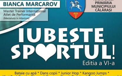 """""""Iubește Sportul"""", ediția a VI-a/Invitat special Bianca Marcarov"""