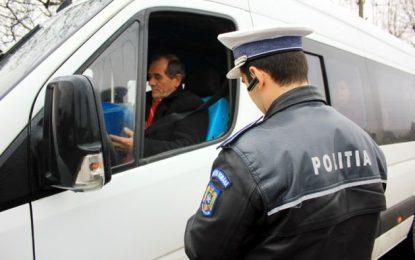 Truck & Bus – acțiune a polițiștilor de la Rutieră