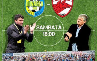 Amical de lux, la Călărași:Dunărea Călărași-Dinamo București/10 lei biletul