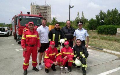 """Pompierii călărășeni s-au calificat la faza națională a """"Competiției naționale de descarcerare și de acordare a primului ajutor calificat"""""""