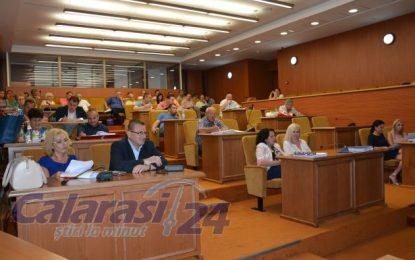 Ședință maraton de 3 ore a Consiliului Local Călărași/Opoziție versus Putere