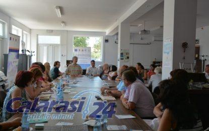 FLAG Dunărea Călărășeană/Discuții privind prioritățile pentru finanțarea de proiecte