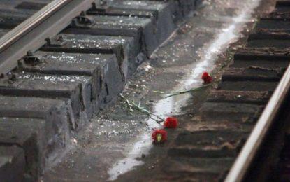 Călărași/Un bărbat a sfârșit tăiat de tren(Atenție!Imagini cu puternic impact emoțional)