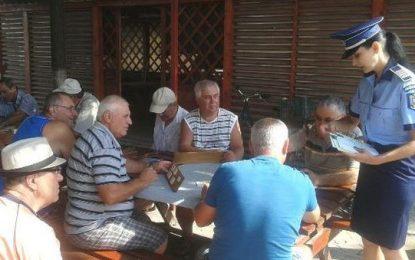 Călărași/Poliţiştii, în dialog cu cetățenii despre modalităţile de prevenire a unor infracţiuni