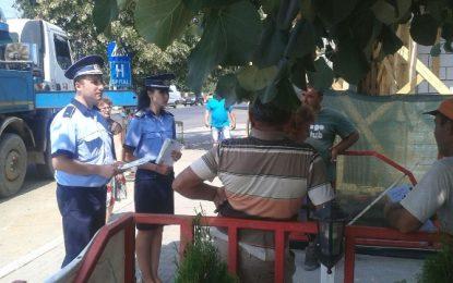 """Cum să nu fii """"călcat"""" de hoți/Ce sfaturi îți dau polițiștii din Călărași"""