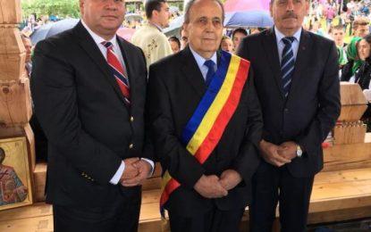 Vasile Iliuță, președintele CJ Călărași, prezent la hramul Mănăstirii Moisei, cea mai mare sărbătoare din Țara Maramureșului