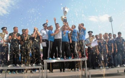 Lotul sportiv al ISU Călărași se pregătește să câștige un nou trofeu