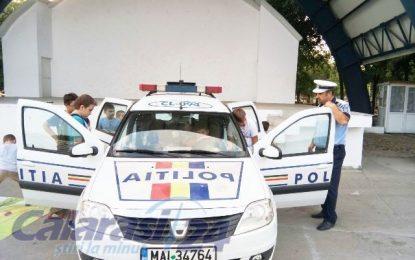 Călărași/Activitate preventiv-informativă desfăşurată de poliţişti în Parcul Dumbrava