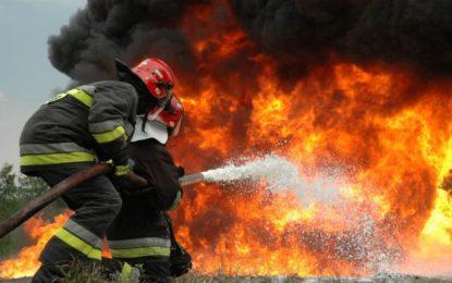 Sohatu/Intervenţie la incendiu de plante furajere