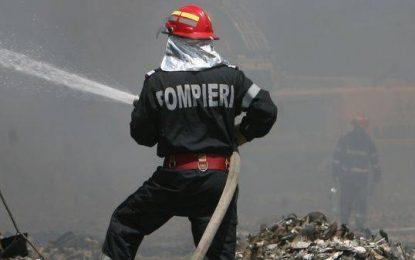 Week-end plin pentru pompierii călărașeni/100 de intervenții în trei zile