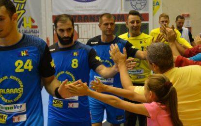 AHC Dunărea Călărași, prima victorie a sezonului/Chikovani,10 goluri împotriva fostei sale echipe