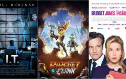 Călărași/Ce filme rulează la cinema în perioada 10  – 29 septembrie 2016