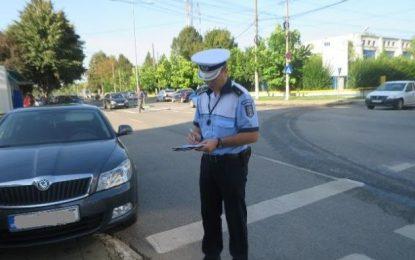Călărași/Șoferii care au parcat neregulamentar, sancţionați de poliţiştii de la Rutieră