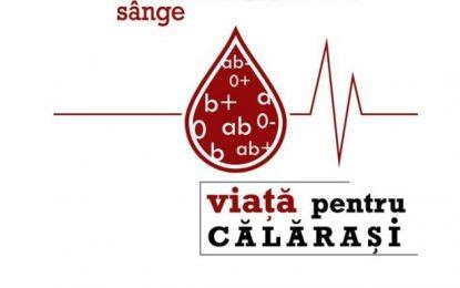 """Călărășeni, implicați-vă!Crucea Roșie Călărași demarează campania """"Donează sânge!Viaţă pentru Călăraşi"""""""