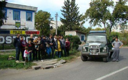 17 cetăţeni sirieni, prinși de polițiștii de frontieră în zona Ostrov