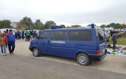 34 de misiuni de ordine publică executate de jandarmii călărășeni în perioada 17 – 20 octombrie a.c.