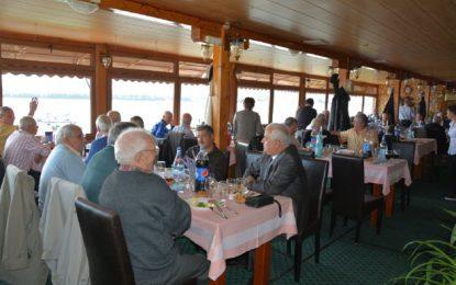 Ceremonie inedită a pensionarilor CFR ai Regionalei Constanța