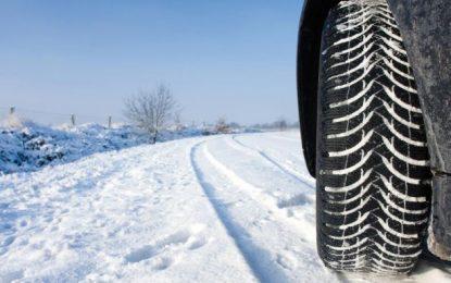 IPJ Călărași recomandă şoferilor să folosească anvelope de iarnă în această perioadă