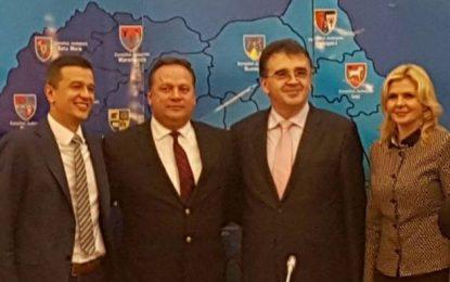 Iliuță a fost ales vicepreședinte al Uniunii Naționale a Consiliilor Județene din România