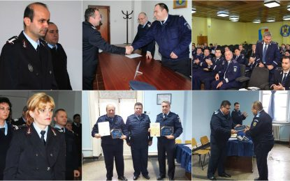 Călărași/Avansări în grad la ISU, Jandarmerie și IPJ