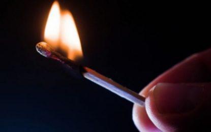 Incendiu la Dorobanțu, provocat de un copil de 5 ani care s-a jucat cu chibriturile