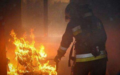 Incendiu într-un bloc din Călărași/Două persoane, intoxicate cu fum