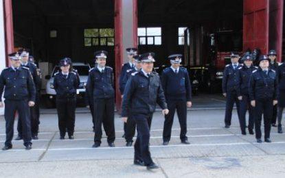 Doi pompieri călărășeni au ieșit la pensie în aplauzele colegilor