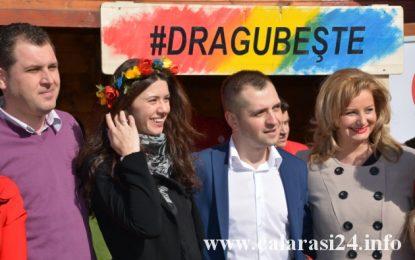 Dragobete la PSD Călărași/Senatoarea Roxana Pațurcă, alături de tinerii social-democrați