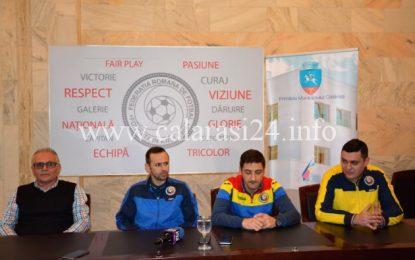 "Preliminarii C.E. Futsal / Robert Lupu:""Ne dorim calificarea"""