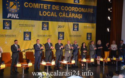 Drăgulin, reales președinte al Organizației Municipale PNL Călărași/Vezi cine face parte din Biroul Permanent