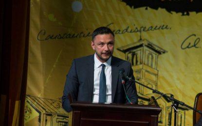 Dragoș Coman, noul secretar general al Organizației Municipale a PNL Călărași
