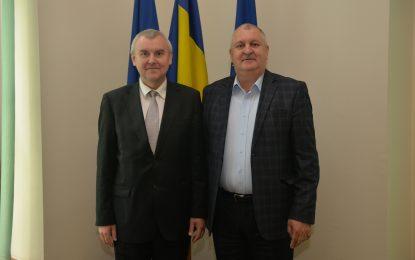 Primăria Călărași/Comunicat privind vizita ambasadorului Republicii Belarus în România, Excelența Sa Andrei M. Grinkevich