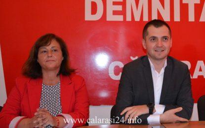 PSD Călărași/Ștefania Moga (Lehliu-Gară) și Florian Belu (Unirea), candidați pentru parțialele din 11 iunie