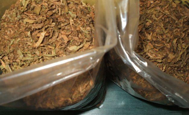 Poliția Călărași/Captură de peste 100 de kg de tutun de contrabandă
