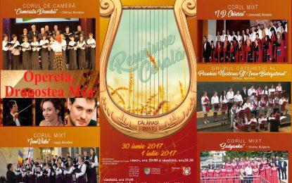 Eveniment cultural de excepție la Călărași/REUNIUNE CORALĂ și recitaluri susținute de soprana Mediana Vlad și baritonul Ştefan Popov