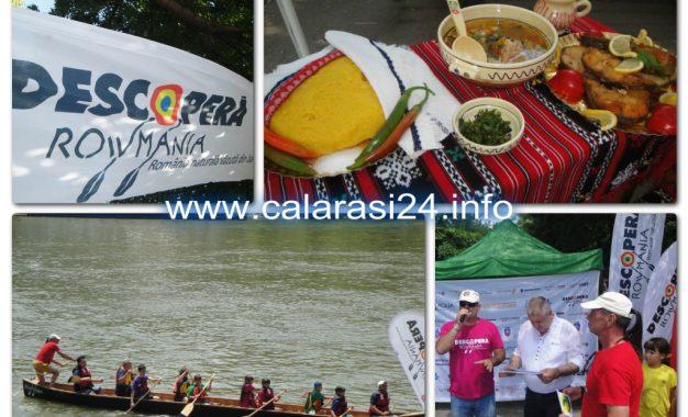 Ziua Dunării 2017/Borș de pește gratuit pentru călărășeni și concurs cu canotcile lui Patzaichin