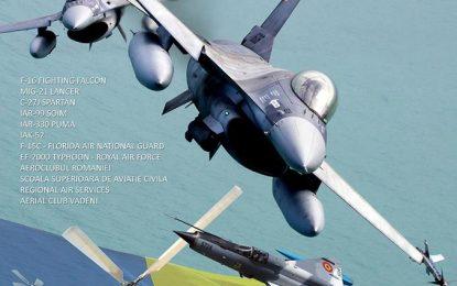 Show aviatic la 50 de km de Călărași/BORCEA OPEN DAY – Baza Aeriană 86