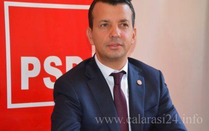 """Deputat PSD, Sorin Vrăjitoru: """"Am plecat cu fruntea sus din Consiliul Județean Călărași"""""""