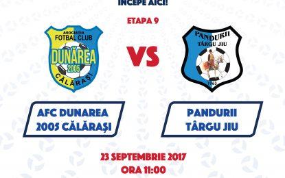 Hai la meci/Liga a 2-a DUNĂREA CĂLĂRAȘI – PANDURII TG-JIU