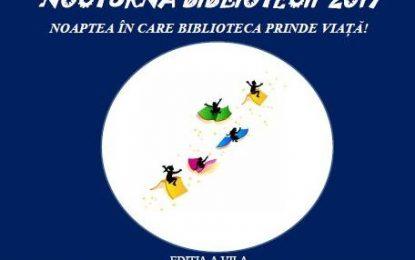 Călărași/ NOCTURNA BIBLIOTECII 2017, ediția a VII-a