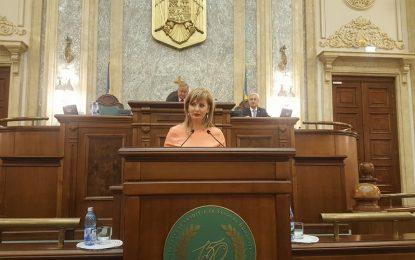 """Roxana Natalia Pațurcă, senator PSD: """"Locul românilor este în România! Cei plecaţi în bejenie, trebuie să se întoarcă acasă!"""""""