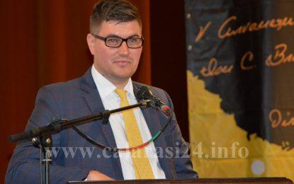 Vasile Alexandru, noul lider al tinerilor liberali călărășeni/FOTO