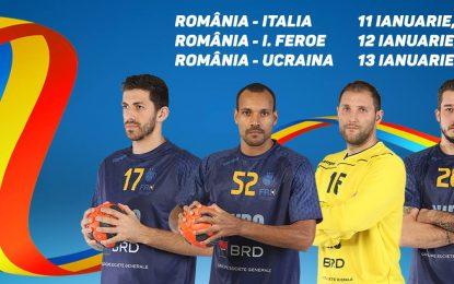 Naționala masculină de handbal a României, în play-off-ul pentru Campionatul Mondial din 2019