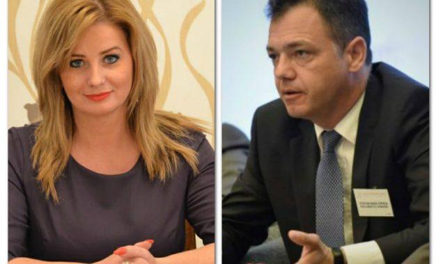 Roxana Pațurcă îl aduce pe ministrul Radu Ștefan Oprea la o întâlnire cu reprezentanții IMM-urilor călărășene