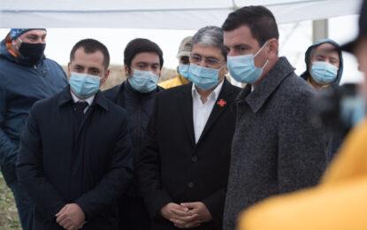 Ministrul Fondurilor Europene, Marcel Ioan Boloș, vizită de lucru în județul Călărași