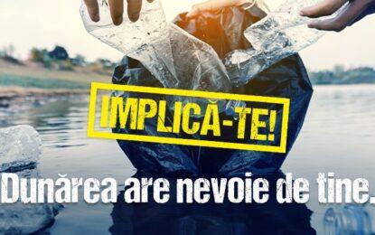 Acțiune de ecologizare/ Dunărea are nevoie de tine. IMPLICĂ-TE!