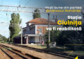 """Senator Pandea: """"Gara Ciulnița va fi modernizată"""""""