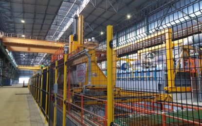 Proprietarul combinatului Donalam Călăraşi investeşte 300 mil. euro într-o fabrică de oţel-beton şi sârmă laminată şi creează 250 de locuri de muncă