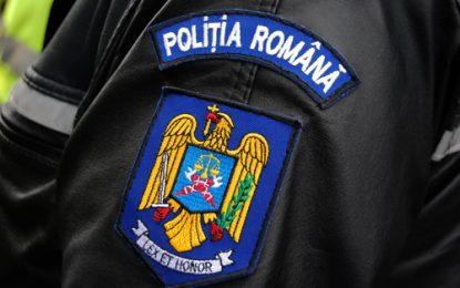 Acţiune preventivă desfăşurată de poliţişti la Olteniţa
